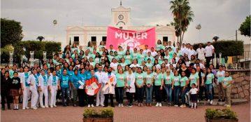 Participa UAdeO en marcha por el Día Internacional de la Mujer