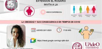 Invitación a la videoconferencia: La obesidad y sus consecuencias en tiempo de COVID