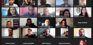 Autoridades académicas de la Unidad Regional Culiacán dan bienvenida virtual a docentes supernumerarios integrados en agosto de 2020