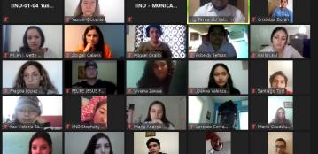 Estudiantes Linces de Ingeniería Ambiental e Ingeniería Industrial de la Unidad Regional Guasave participan en charla por el Día Mundial del Agua en un encuentro virtual con egresados