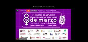 """Directora de la Unidad Regional El Fuerte de la UAdeO, M.C. Karina Vallejo Quintero, diserta la conferencia """"Liderazgo y Resiliencia Femenina ante el COVID 19"""" en la Jornada Virtual de Reflexión del IPN"""