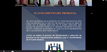 Academia de Ciencias Económico Administrativas de la Unidad Regional El Fuerte, participa de manera virtual en examen de conocimientos, con opción a titulación