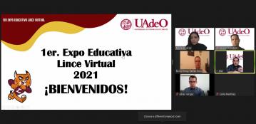 Presenta Unidad Regional Mazatlán su oferta educativa en la Primer Expo Educativa Lince Virtual