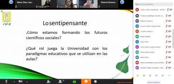 """La Comunidad Estudiantil de la Unidad Regional El Fuerte participa en la conferencia """"La Necesidad de formar Profesionales Sentipensantes"""""""