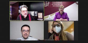 Rectora de la UAdeO, Dra. Sylvia Paz Díaz Camacho y el Subsecretario de Educación Superior, Dr. Luciano Concheiro Bórquez, sostienen productiva reunión donde abordan temas de relevancia para esta casa de estudios y la comunidad Lince