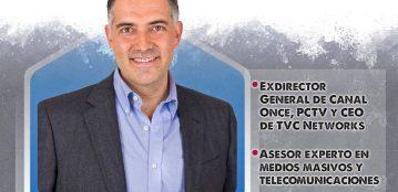 """Julio Di-Bella Roldán impartirá desde el foro del Canal Antena Lince UAdeO la conferencia virtual """"Comunicación en Tiempos de Pandemia"""""""