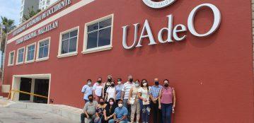 Unidad Regional Guamúchil visita la Unidad Regional Mazatlán, en busca de un intercambio académico para estudiantes de Ingeniería de Software y Psicología