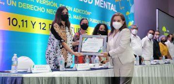 Secretaría de Salud del Estado de Sinaloa reconoce a la Rectora de la UAdeO, Dra. Sylvia Paz Díaz Camacho, por su apoyo a la Prevención de Adicciones y al Cuidado de la Salud Mental